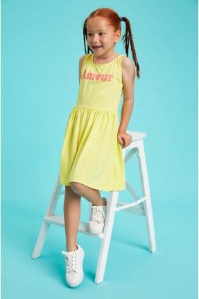 فستان اطفال بناتي بكتابة