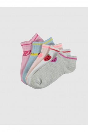 جوارب اطفال بناتي عدد 5