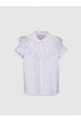 قميص اطفال بناتي مزين بدانتيل