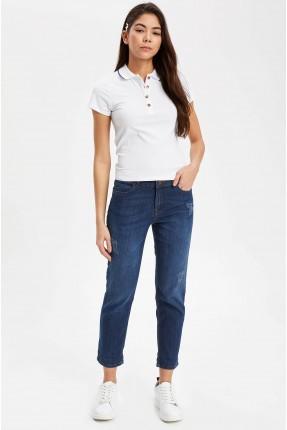 بنطال جينز نسائي سليم فيت
