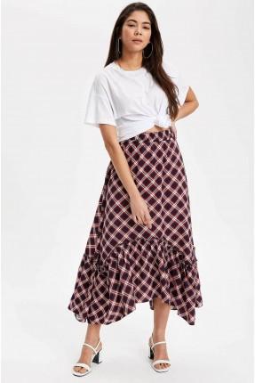 تنورة طويلة ملونة