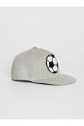 قبعة اطفال ولادي بطبعة كرة قدم