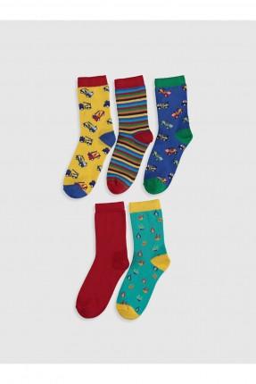 جوارب اطفال ولادي عدد 5