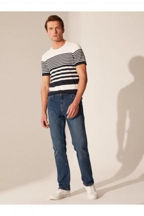 بنطال جينز رجالي ريجيولار فيت