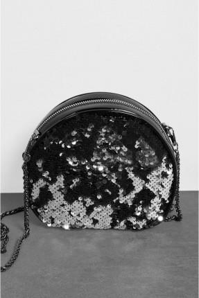 حقيبة يد نسائية مزينة بالترتر