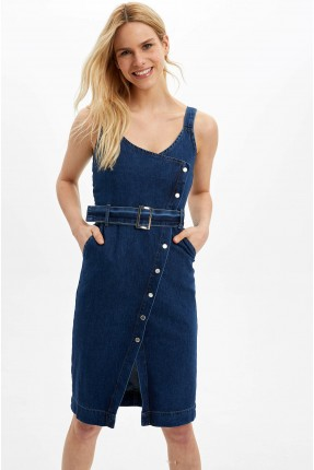 فستان سبور نسائي جينز