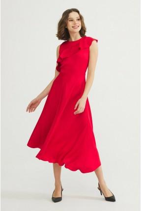 فستان رسمي بكشكش