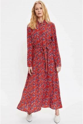 فستان سبور نسائي بطبعة