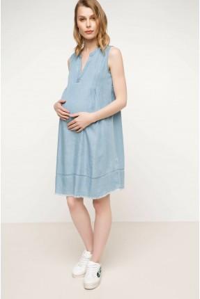 فستان سبور حمل بياقة V