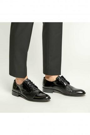 حذاء رجالي رسمي ذات لمعة