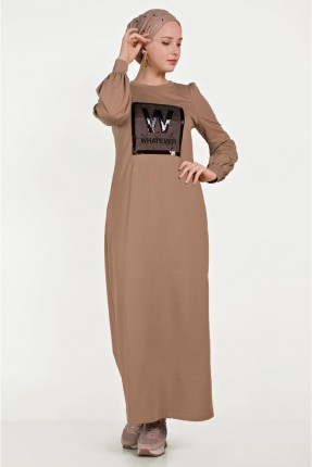 فستان سبور برسمة