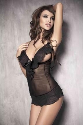 فستان لانجري قصير  قطعتين