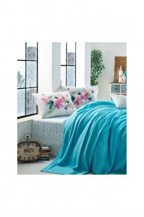 طقم بطانية سرير مزدوج مورد