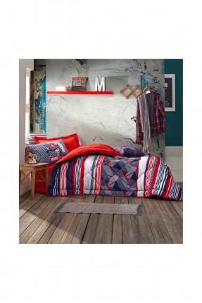 طقم لحاف سرير اطفال مخطط
