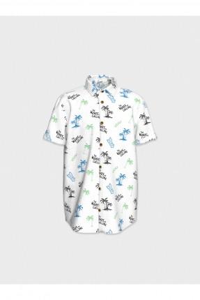 قميص اطفال ولادي بنقشة نخلة