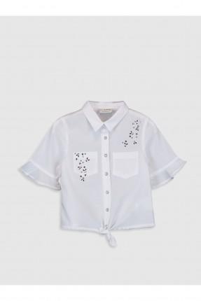 قميص اطفال بناتي مزين بستراس