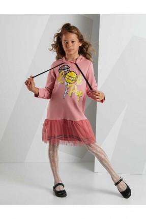 فستان اطفال بناتي بكابيشون