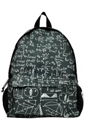 حقيبة ظهر اطفال ولادي بطبعة معادلات رياضية