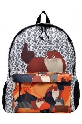 حقيبة ظهر اطفال ولادي بطبعة سناجب