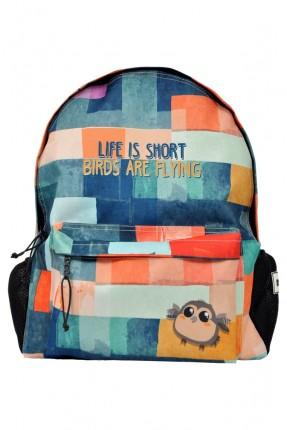 حقيبة ظهر اطفال ولادي ملونة