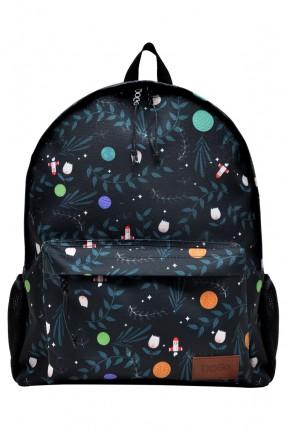 حقيبة ظهر اطفال ولادي بطبعة كواكب الفضاء