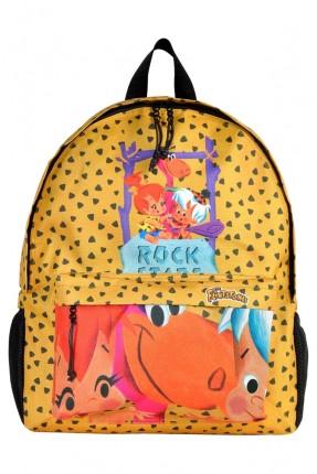 حقيبة ظهر اطفال ولادي بطبعة روك ستارز