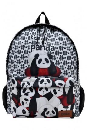 حقيبة ظهر اطفال ولادي بطبعة دببة الباندا
