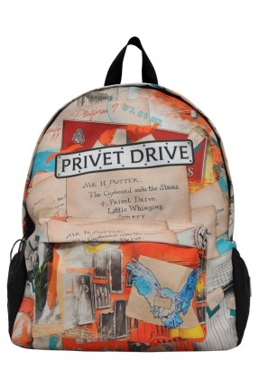 حقيبة ظهر اطفال ولادي بطبعة شخصيات هاري بوتر