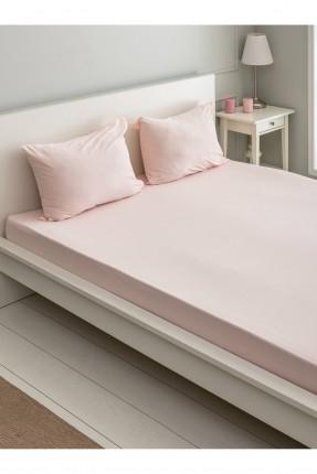 شرشف سرير مزدوج مع غطاء وسادة
