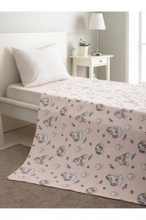 بطانية سرير بيبي مزين برسم