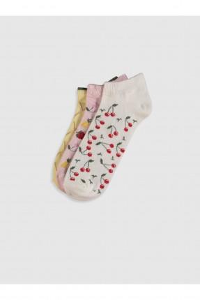جوارب نسائية برسمة عدد 3