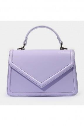 حقيبة يد نسائية بحبكة على الاطراف