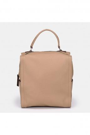 حقيبة ظهر نسائية بجيوب جانبية