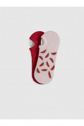 جوارب نسائية برسمة عدد 2