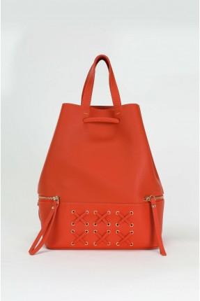 حقيبة يد نسائية مزينة باربطة وسحابات