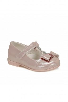 حذاء بيبي بناتي مزين بستراس