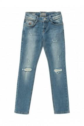 بنطال جينز اطفال ولادي ممزق