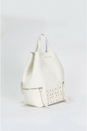 حقيبة يد نسائية مزينة باشارات X