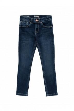 بنطال جينز اطفال بناتي بكحتة