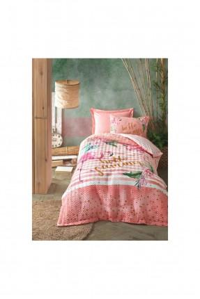 طقم غطاء سرير اطفال مزين برسم