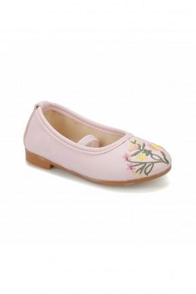حذاء اطفال بناتي بنقشة وردة