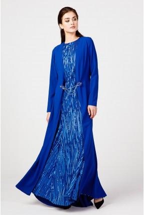 فستان رسمي مزين بالباييت