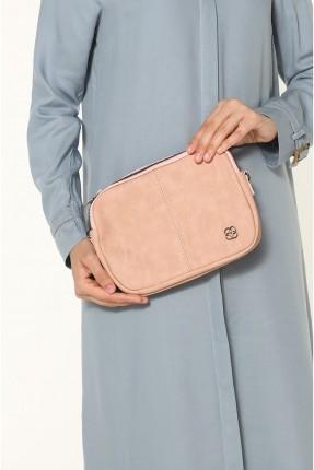 حقيبة يد نسائية بقطعة معدنية