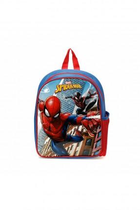 حقيبة ظهر مدرسية اطفال ولادي بطبعة سبايدرمان