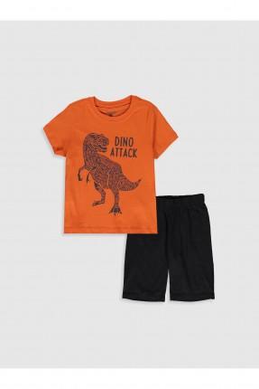 بيجاما اطفال ولادي بطبعة ديناصور