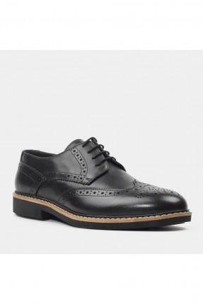 حذاء رجالي جلد مزخرف