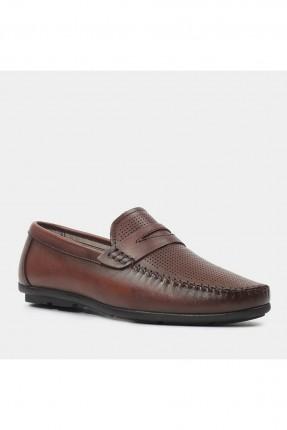 حذاء رجالي بثقوب من الامام