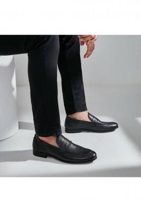 حذاء رجالي جلد لامع