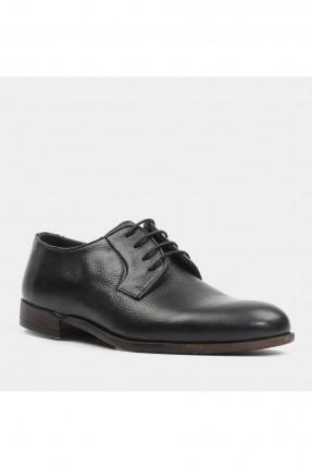 حذاء رجالي جلد مع رباط