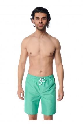 شورت سباحة رجالي سادة اللون